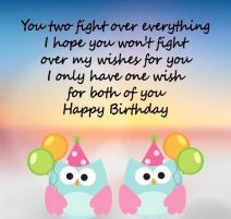 Birthday Wishes For Twin DaughtersBirthday Wishes For My Twin Delectable I Love My Twin Sister Quotes