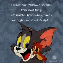 Funny And Hilarious Tom And Jerry Quotes I Love U Messages