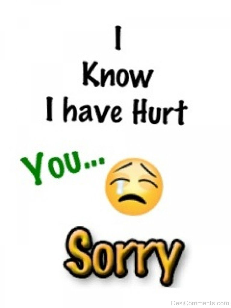 Sorry Messages For Hurting A Girlfriend I Love U Messages