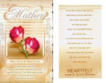 Touching Message For Mom