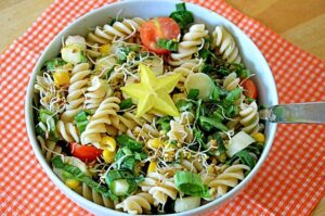 side salad recipes for pasta